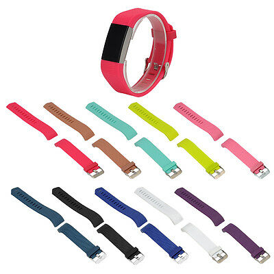 For Fitbit Charge 2!Watch Style L/S Replacement Bangle Wrist Band Strap Bracelet