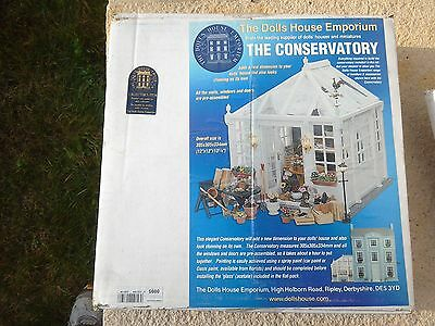 NEW! 12th scale Dolls House Emporium 0095 Conservatory Kit