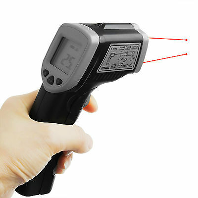 Handheld LCD Digital Laser Temperature Thermometer Infrared Gun Non-Contact IR