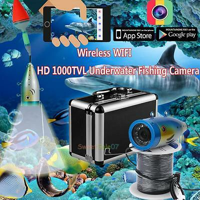 WIFI Wireless 20M Underwater Fishing Camera Video Recorder Night Vision Fishing