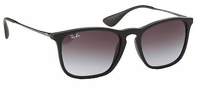 Genuine RAY-BAN 4187 Replacement Lenses - Gradient Grey Polycarb.