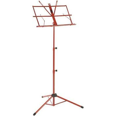 Stagg - Pupitre Lyre Pliable - Rouge - MUS-A3 RD