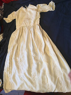 3 Victorian Christening gowns and 1 petty coat
