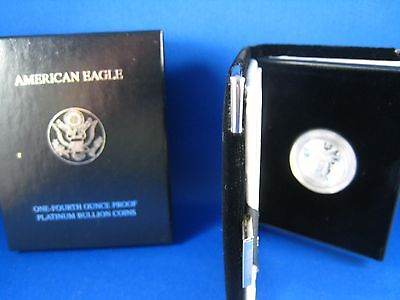 1997W  UNITED STATES PLATINUM AMERICAN EAGLE - 1/4 OUNCE PROOF  (erpe1)