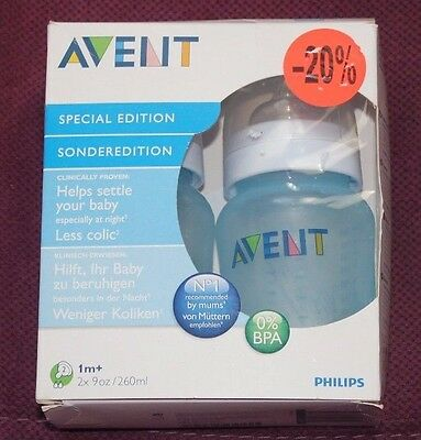 philips avent pack de 2 biberons 260ml