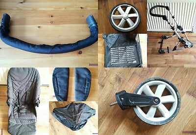 Britax B-Smart Pushchair Spare Parts and Accessories Black *FREE POSTAGE*