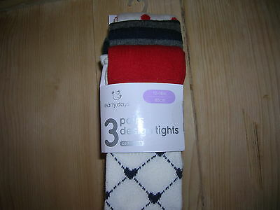 3 Tights for Girl 2-3 years