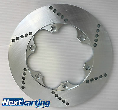 Rear Brake Disc Steel 200mm x 8mm - Cadet Kart - Next Karting
