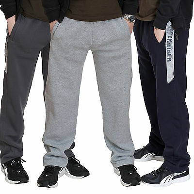 Sweatpants Kinder Jungs Hose Jogginghose Trainingshose Sport Freizeithose warm ☃