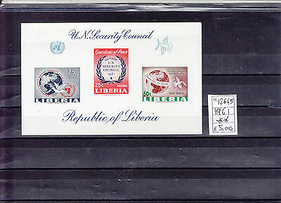 1961 Airmail - Liberia's Membership in the Security Council