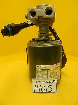GE Motor 5KH32GN5588X Motor 4805 with Procon Pump SVG 90S DUV Used Working