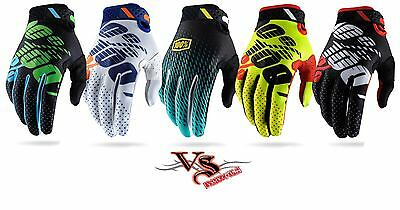 2017 100% Gloves RIDEFIT Motocross Gloves Enduro BMX MTB MX RIDEFIT