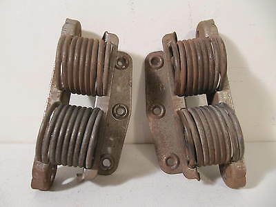 Antique Vintage Pair Seng Platform Rocker Coil Spring Parts