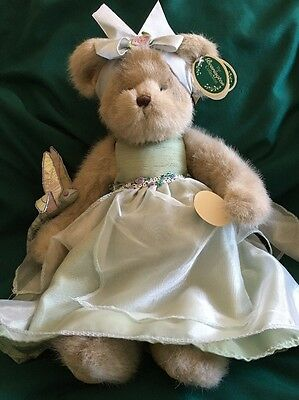 """Bearington Collection Musical Bear 2006 Felicia and Flutter Wings 17"""" NWT 1751"""