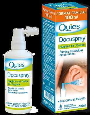 Quies Docuspray Elininates Wax Residue 100ml