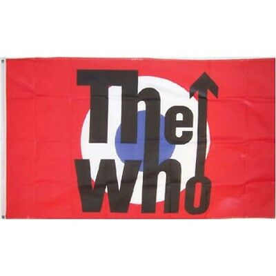 The Who Flag 3' x 5' Concert Banner Premium made in USA