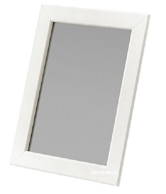 White Photo Frame Picture Frame Poster Size Frame Wooden Effect In Various Sizes