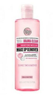 Soap & Glory Total Drama Clean 5 In 1 Micellar Make Up Remover & Cleanser 350 ml