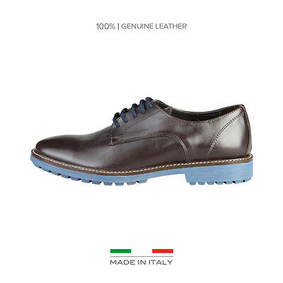 Ladies Lace Up Shoes V 1969 - BERTRAND From Genuine Leather With Rubber Sole