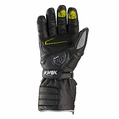 KNOX Zero 2 Waterproof Motorcycle Gloves Leather Hand Armour Winter S