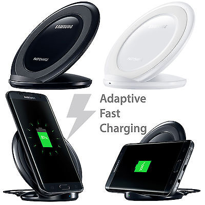 Fast Qi Wireless Charger Charging Pad Stand Dock for Samsung Galaxy S6 S7 S8