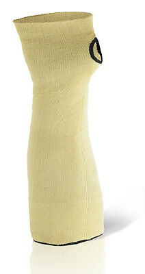 """10 B Click SINGLE Cut Resistant Kevlar Sleeve With Thumb Slot Arm Protection 18"""""""