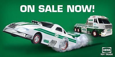 2016 Hess Toy Truck and Dragster Guarantee yours today!!!!