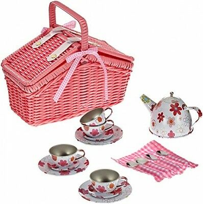 Picnic Basket Play Set With18Pieces By Legler kids Baby toy Christmas Xmas gift
