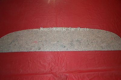MARKETS BEST 1955-1957 Chevy PACKAGE TRAY JUTE INSULATION 2 DR 55 56 57