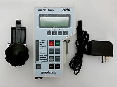 Medfusion 2010 Syringe Pump with New Battery, AC adapter and 1 year warranty