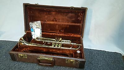 Used Old's Ambassador Bb Trumpet W/ Case Mouthpiece & Lube kit