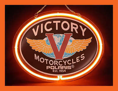 Victory Services Parts Repair Display Neon Sign