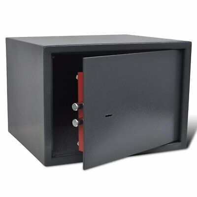 # Pistol Safe Hand Gun Ammunition Box Storage Security Lockbox Heavy Duty Steel