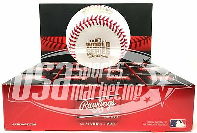 (12) Rawlings 2016 World Series MLB Official Game Baseball Boxed - Dozen