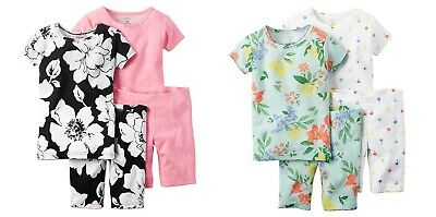 1acf159f6 SPECIAL PRICE!  CARTER S Toddler Girl 4-Piece Pajamas Sets Size 2T ...
