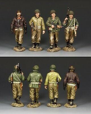 """KING AND COUNTRY """"Gang of Heroes"""" D Day WW2 DD239"""