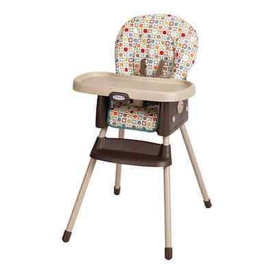 Highchair Booster Baby Feeding 2-in-1 High Chair Infant-To-Toddler Portable Seat