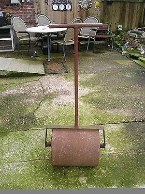 Garden Roller Solid Cast Iron With Water Fill