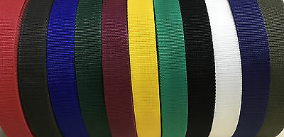 Polypropylene Strap Webbing Various Colours,widths & Lengths~Superquick Despatch