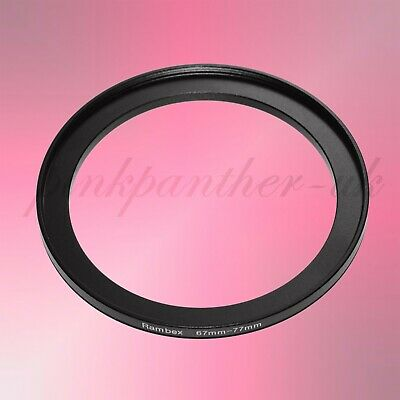 67mm-77mm 67mm to 77mm 67-77 mm Filter Ring Adapter - Step Up / Stepping from UK