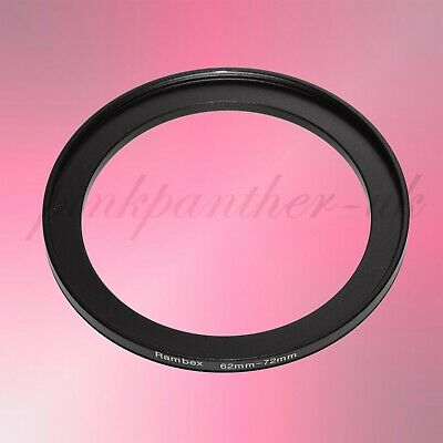 62mm-72mm 62mm to 72mm 62-72 mm Filter Ring Adapter - Step Up / Stepping from UK