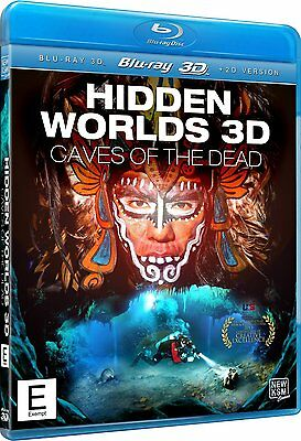 Hidden Worlds - Caves of the Dead 3D (2013) - New Blu-Ray