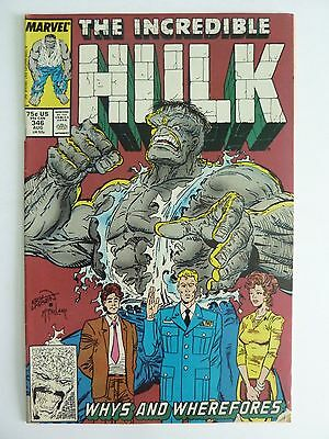 Marvel - The Incredible Hulk August 1988 No. 346