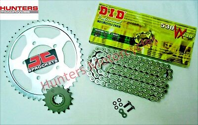 Honda VTR1000F Firestorm DID X-Ring Heavy Duty Chain & JT Sprockets Kit Set