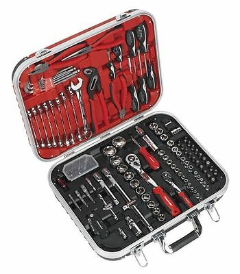 Sealey AK7980 136 Piece Mechanic's Tool Kit With Carry Case SOCKETS WRENCH ETC