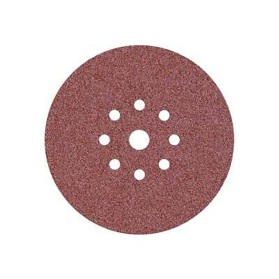 10 Disques abrasifs pour ponceuses girafes - Ø 225 mm - G16–36 - 9 trous
