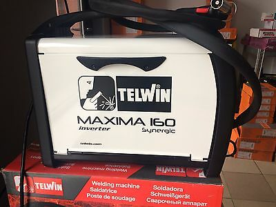 TELWIN 160 Maxima Synergic MIG Welder brazing + MIX gas + reduce+ wire 5kg