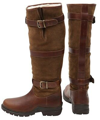 Horka Highlander WATERPROOF WITH FUR LINING Country Dog Walking Boots ALL SIZES