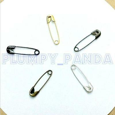 Anti-Rust Copper Safety Pins Knit Clothing Hang Tag 5 Colors Bulk Wholesale LOT
