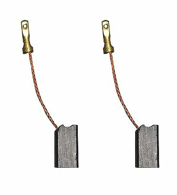 2X CARBON BRUSHES - Use on Iskra-Perles Grinder (Size - 6 X